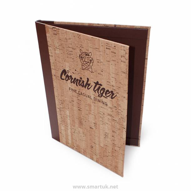 Cork Menu Covers