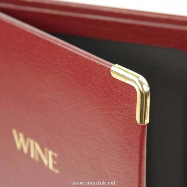 Bonded Leather Menu Folders