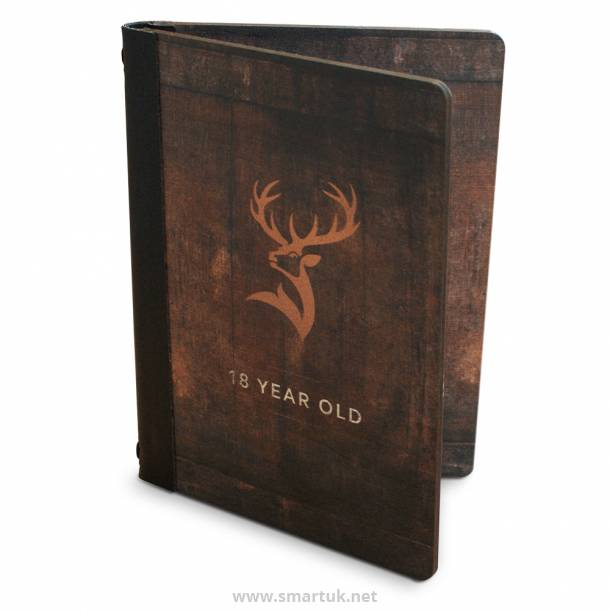 Digitally Printed Wood Veneer Menu Covers Smart
