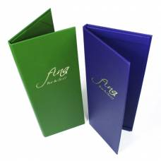 Paris Buckram Menu Covers