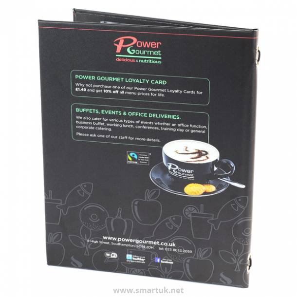 Printed Menu Covers
