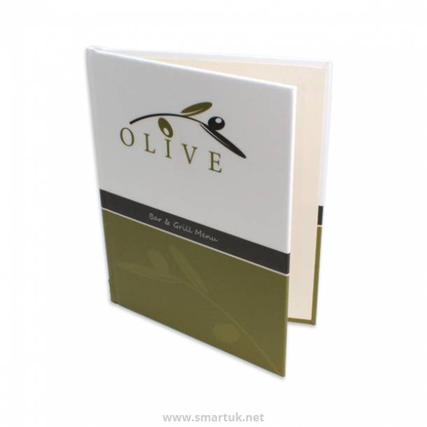 Full Colour Printed Menu Covers Smart Hospitality Supplies