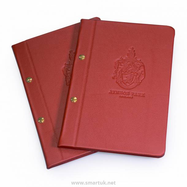 Real Leather Menu Covers