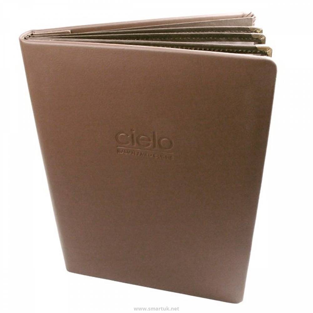 Real Leather Menu Covers Smart Hospitality Supplies
