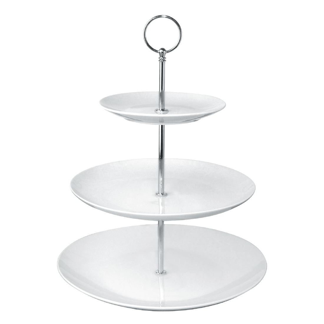 Olympia 3 Tier Afternoon Tea Cake Stand by Olympia-GG881 - Smart Hospitality Supplies  sc 1 st  Smart Hospitality Supplies & Olympia 3 Tier Afternoon Tea Cake Stand by Olympia-GG881 - Smart ...