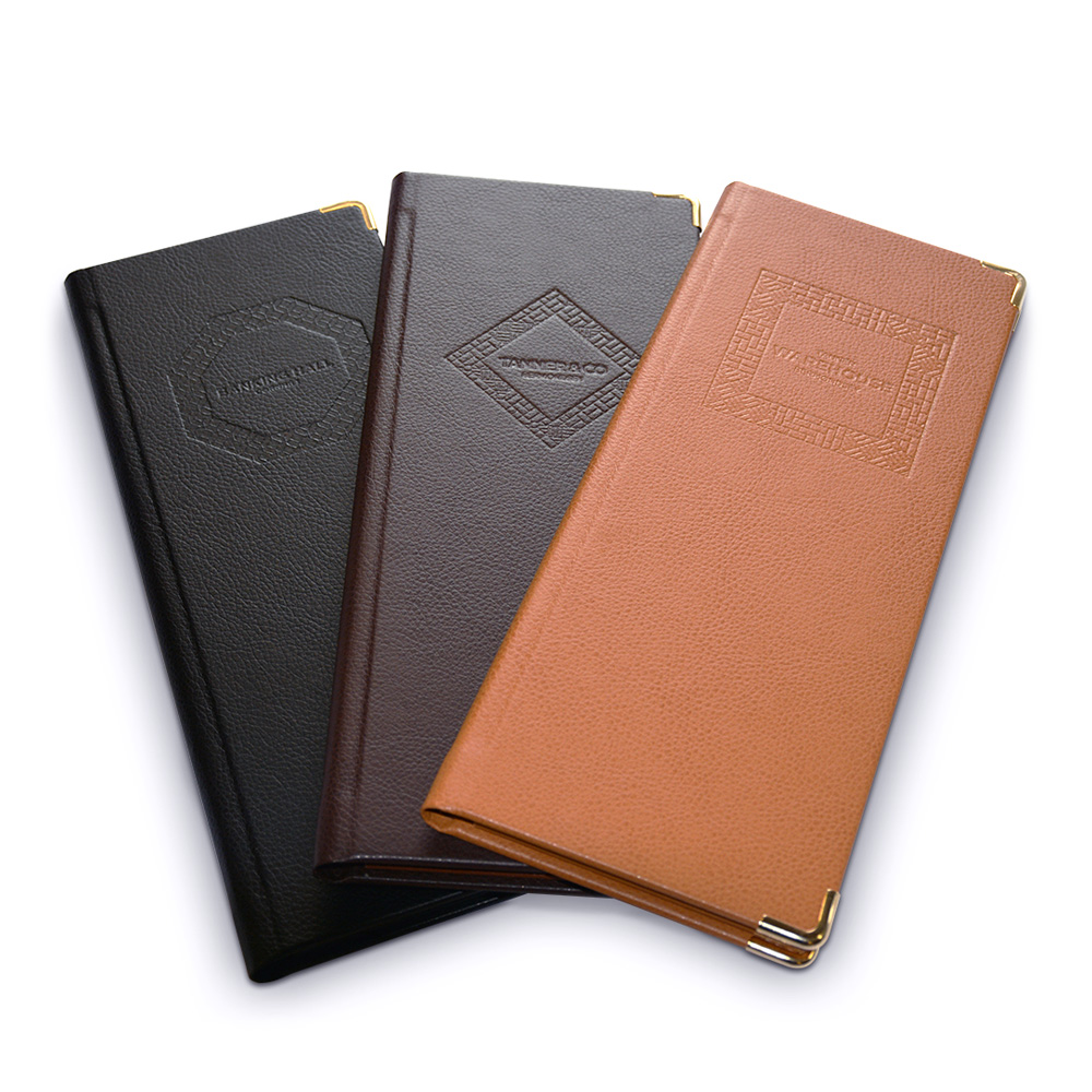 Bonded Leather Menu Covers Restaurant Menus