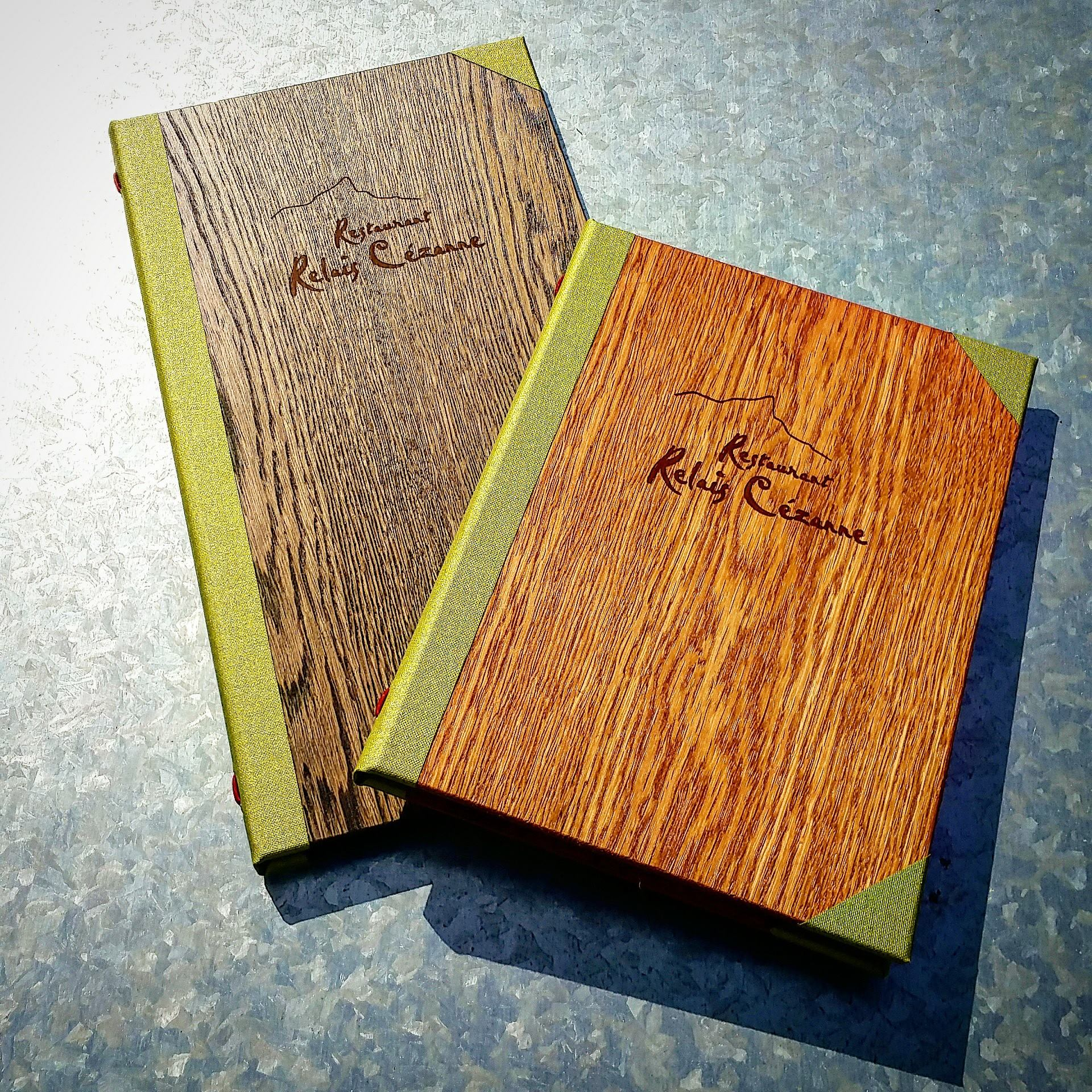 Real Wood Guest Room Folders Smart Hospitality Supplies