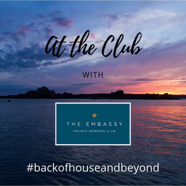#backofhouseandbeyond with The Embassy, Jersey