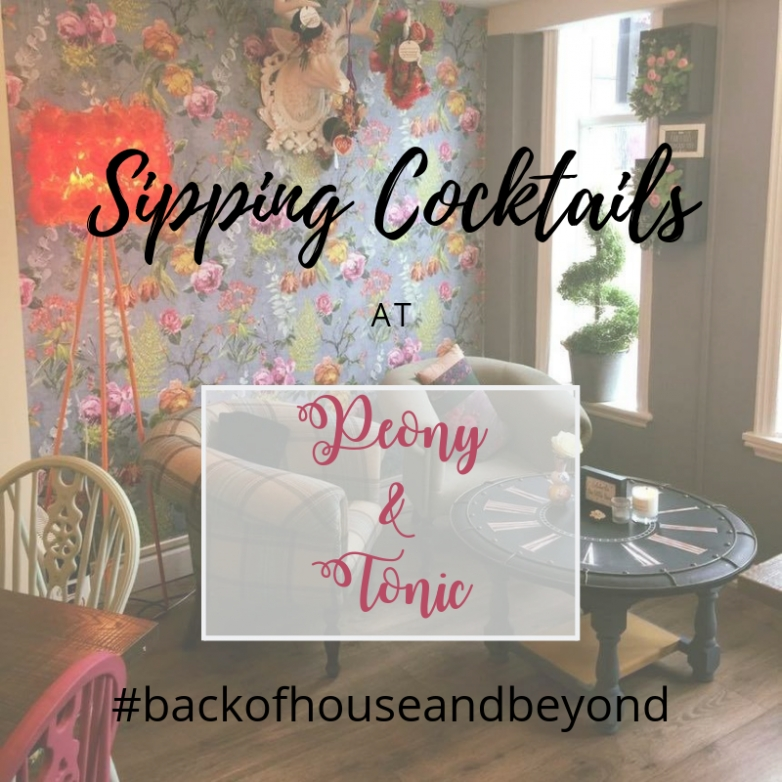 #backofhouseandbeyond with Peony & Tonic