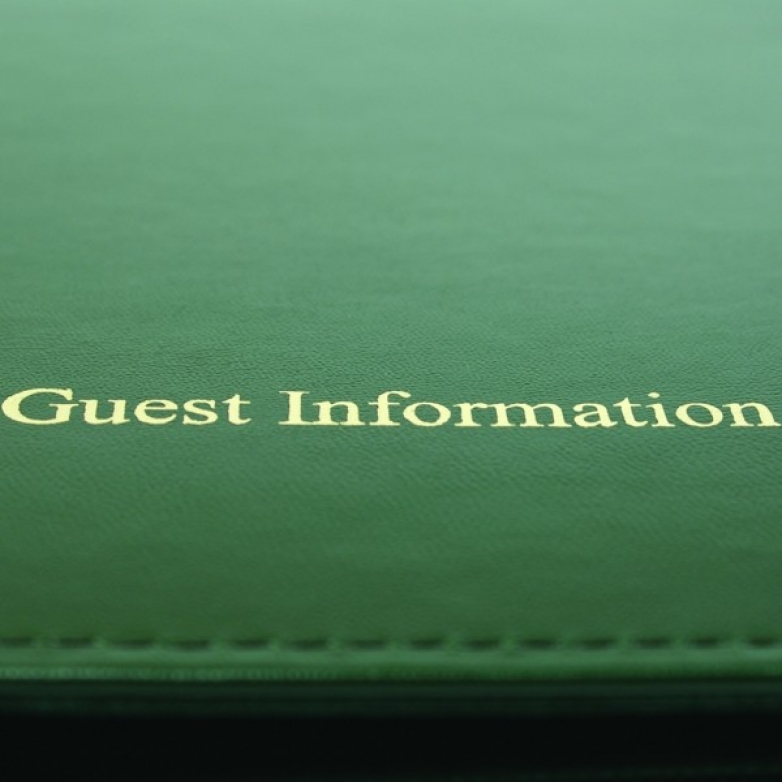 Guest Information Folder Essentials