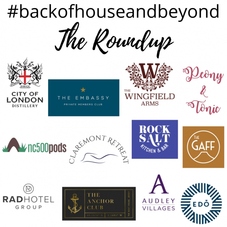 The #backofhouseandbeyond 2019 Roundup