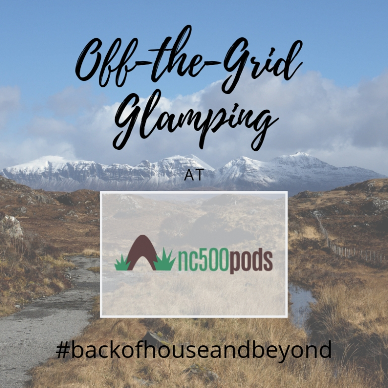#backofhouseandbeyond with nc500 Pods